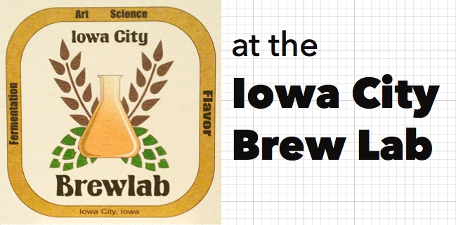 at The Iowa City Brewlab