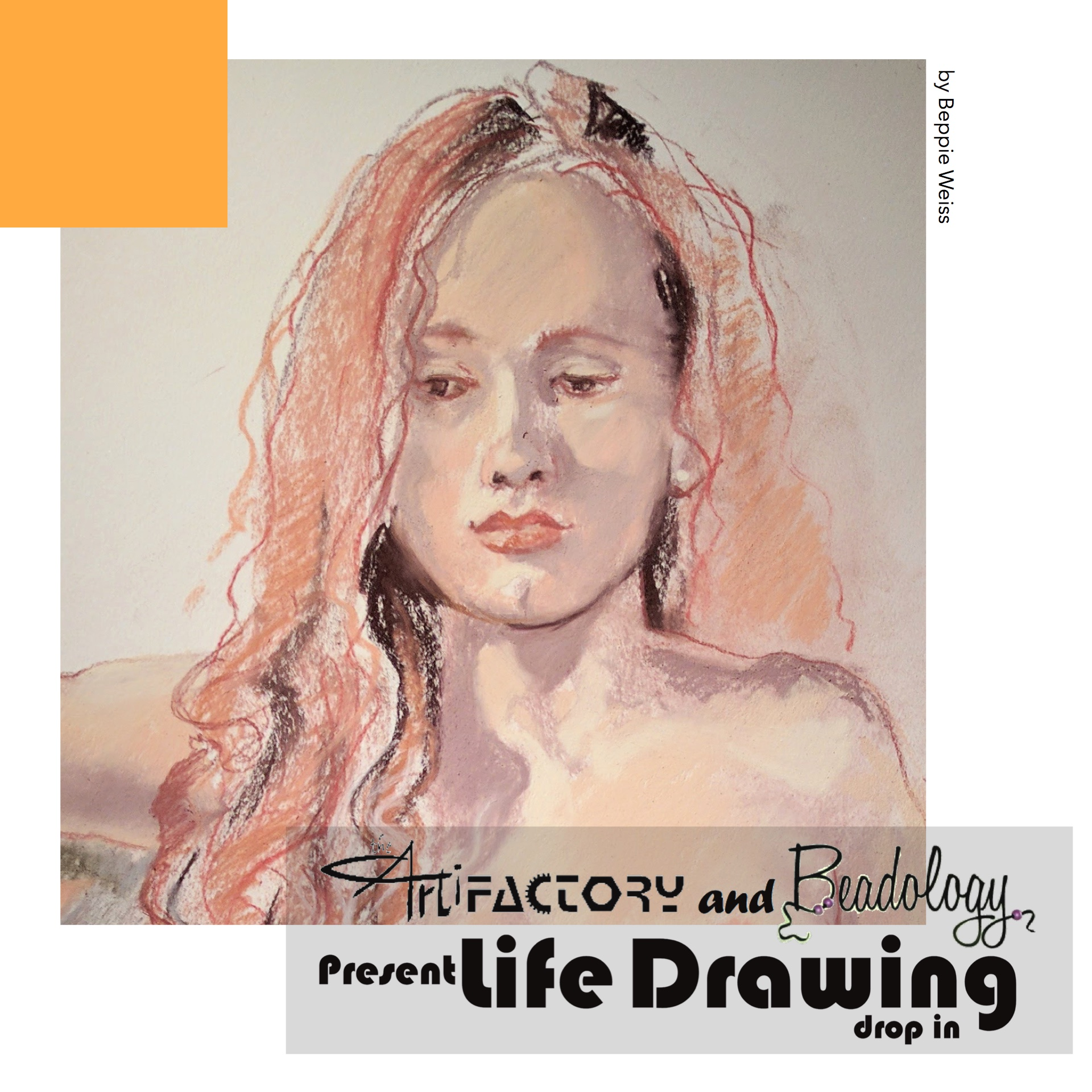 The Artifactory and Beadology present Life Drawing drop in