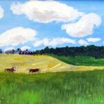 Iowa Field by Peggy Stiles Houston