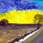 Yellow Sky by M Renee Vogt
