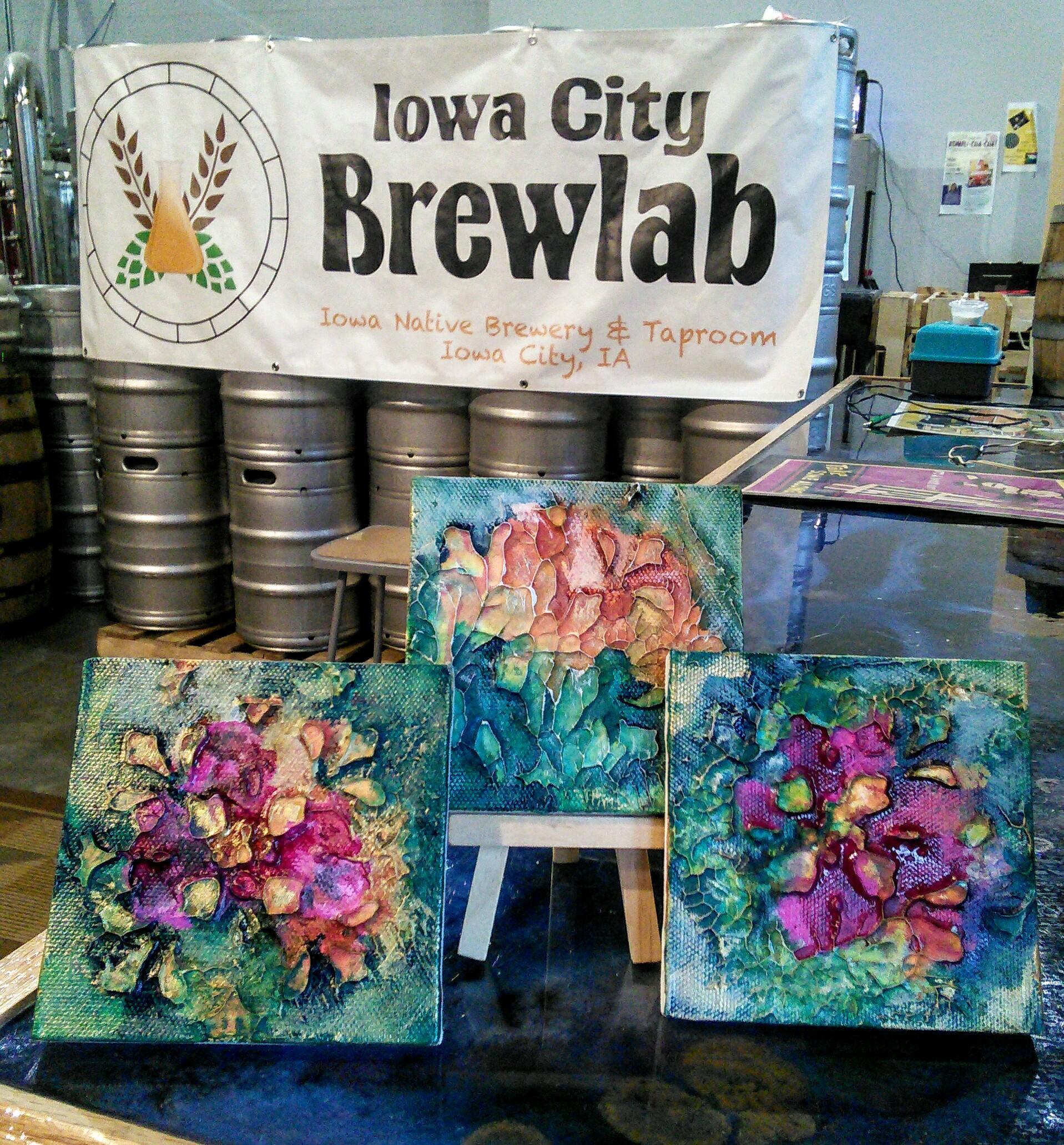 Make & Take Art at the Brewlab