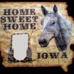 Home Sweet Home, Iowa by Brad Preston
