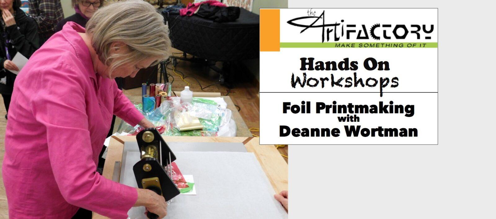 Foil Printmaking Workshop