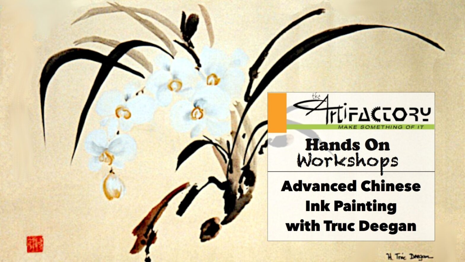 Advanced Chinese Ink Painting