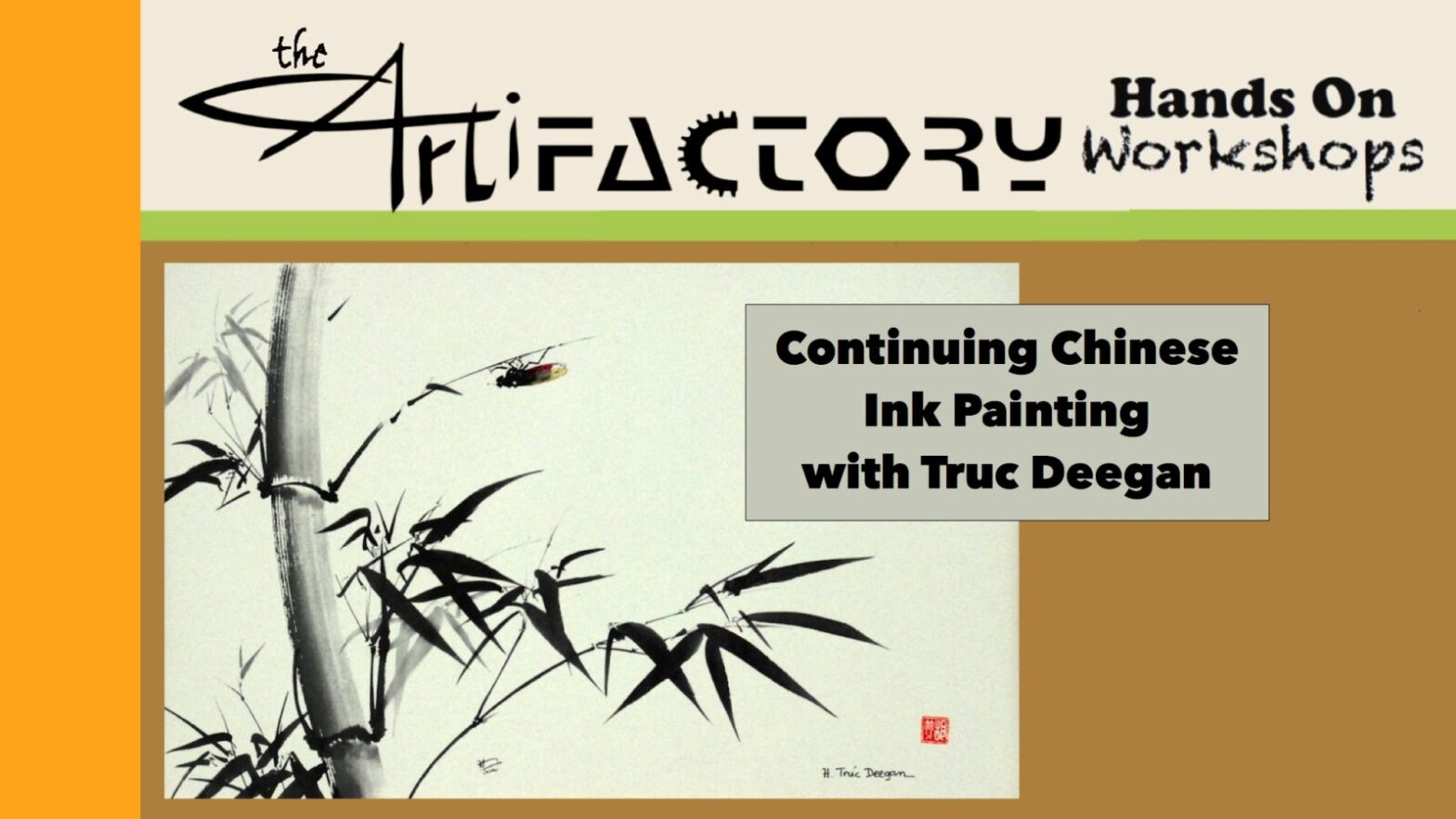 Continuing Chinese Ink Painting
