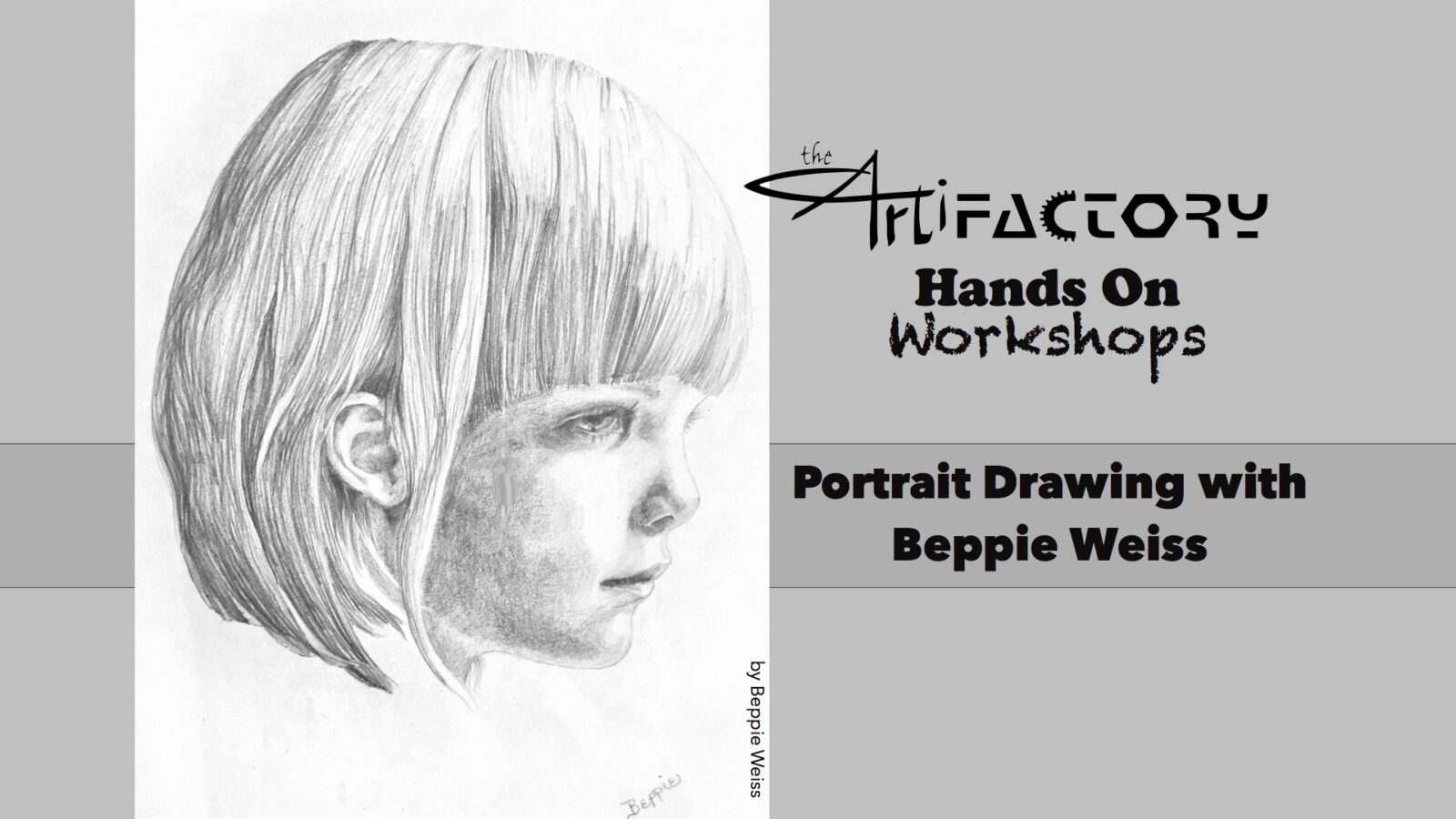 Portrait Drawing with Beppie Weiss