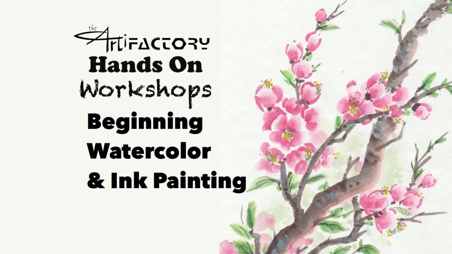 Beginning Watercolor & Ink Painting
