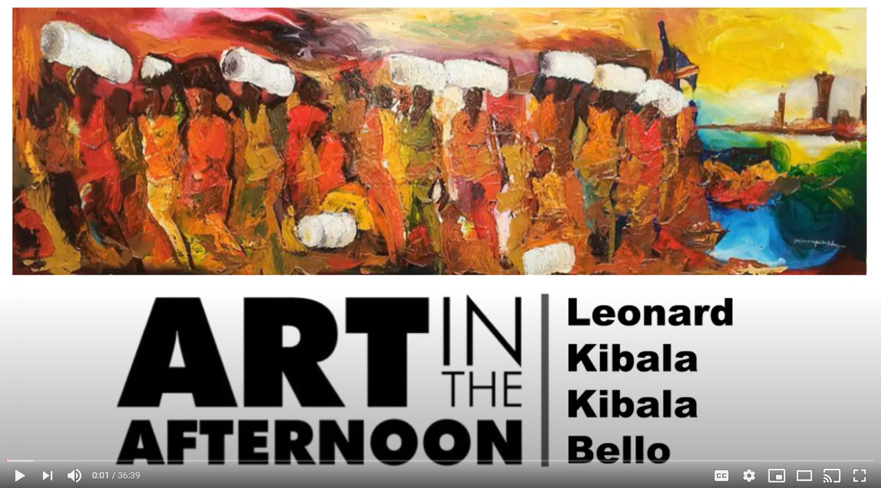 Art in the Afternoon | Leonard Kibala