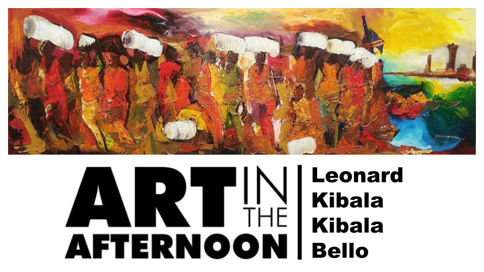 Art in the Afternoon | Léonard Kibala
