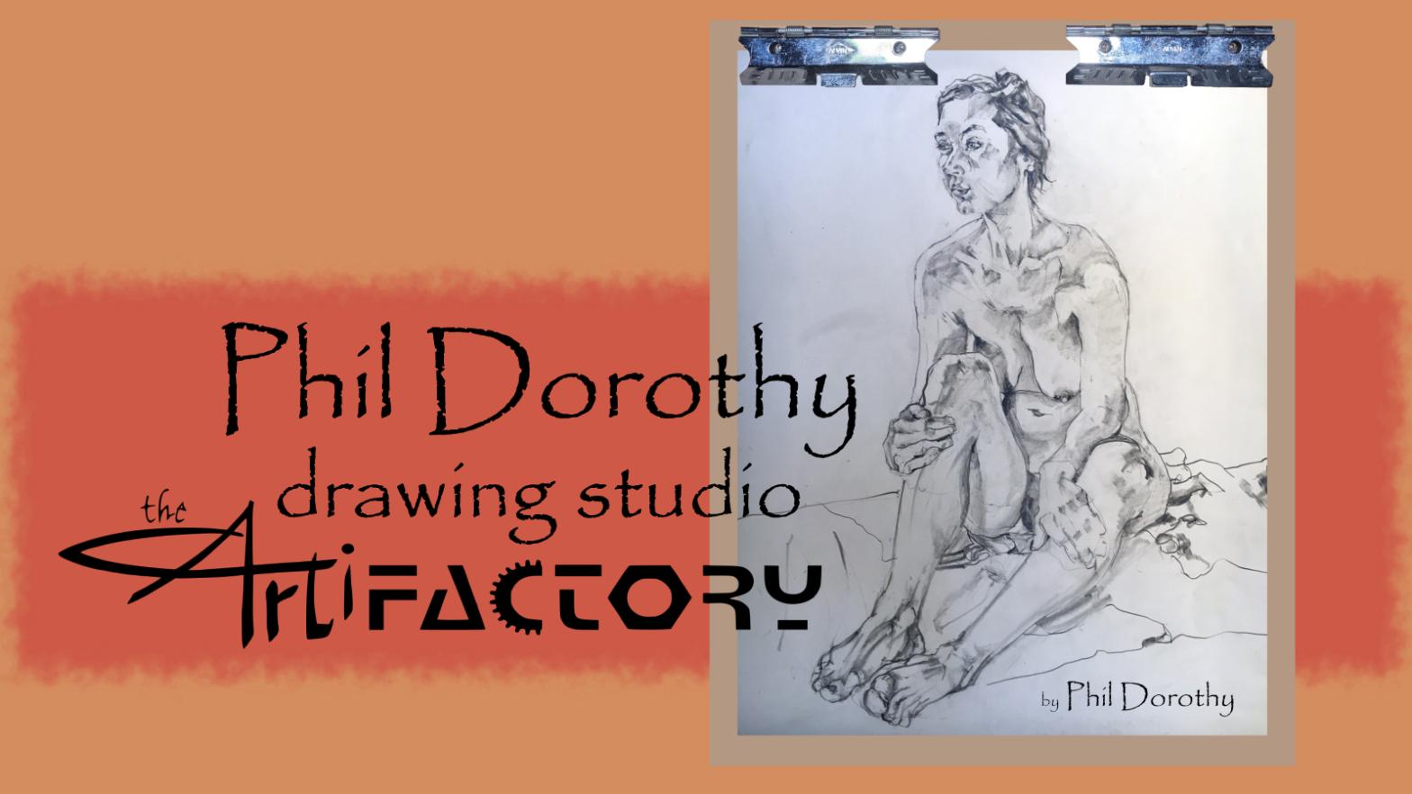 Phil Dorothy Drawing Studio   June 24