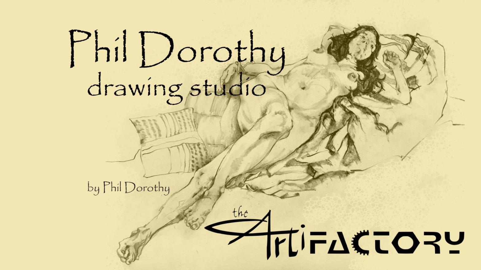 Phil Dorothy Drawing Studio   July 1