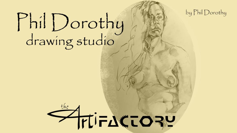 Phil Dorothy Drawing Studio   July 8