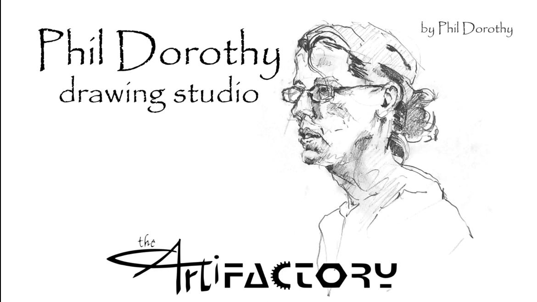 Phil Dorothy Drawing Studio   July 15
