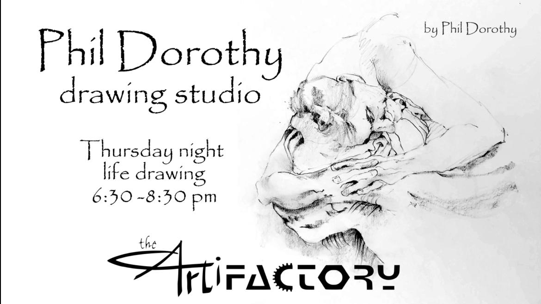 Phil Dorothy Drawing Studio   July 22