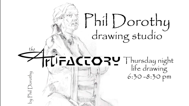 Phil Dorothy Drawing Studio   Aug 12