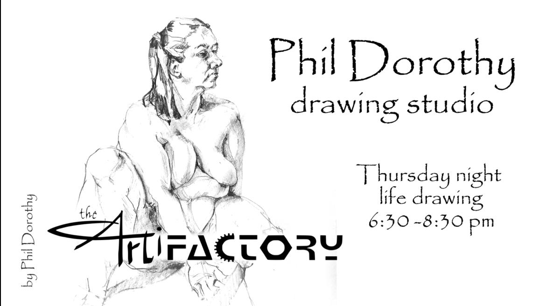 Phil Dorothy Drawing Studio   Aug 26