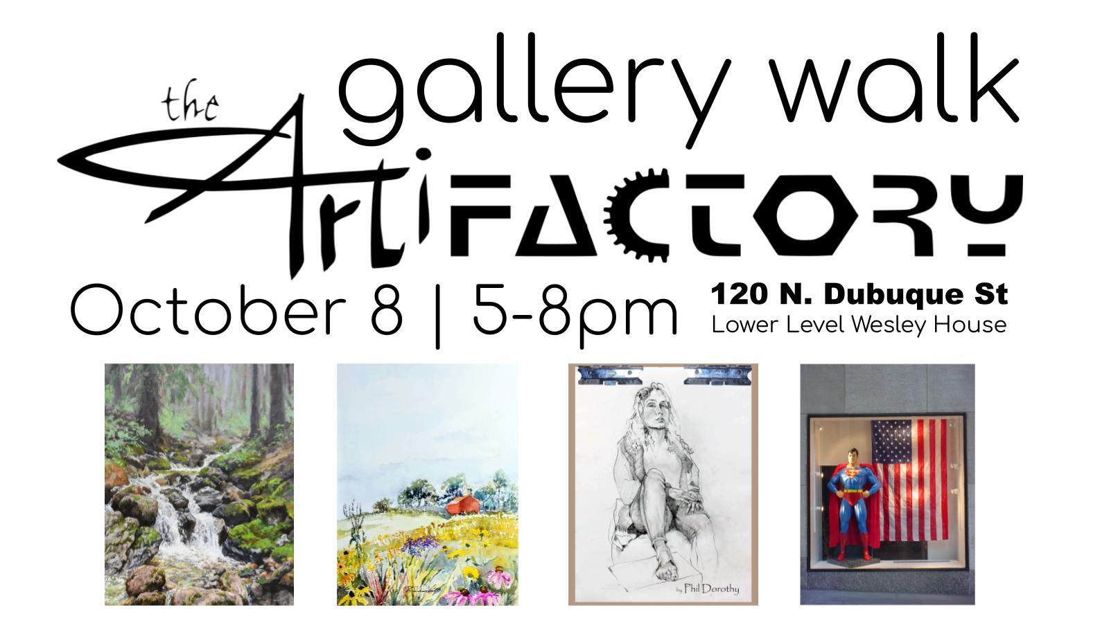 Gallery Walk   The ArtiFActory