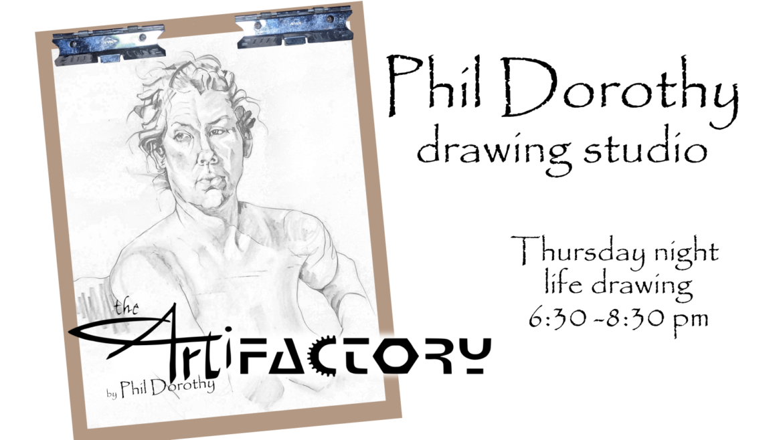 Phil Dorothy Drawing Studio   Sept 16