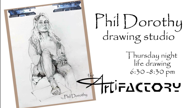 Phil Dorothy Drawing Studio   Sept 23