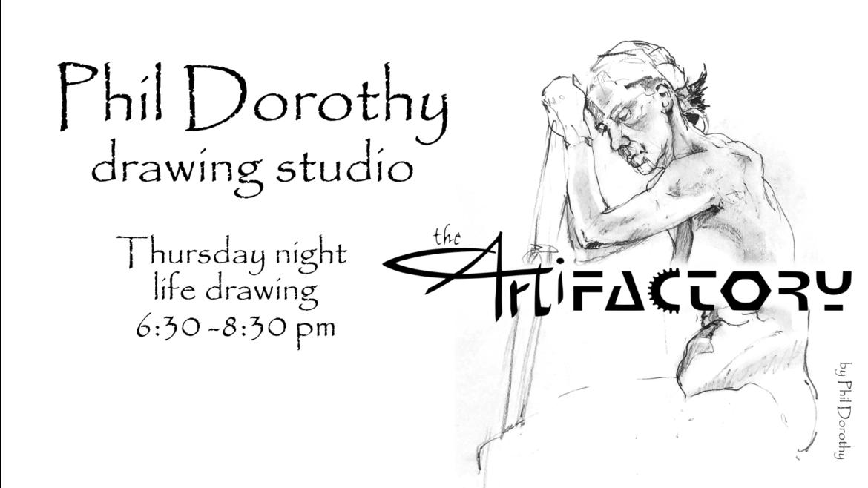 Phil Dorothy Drawing Studio | Sept 30